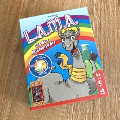 L.A.M.A - LAMA - Kaartspel - 999 Games