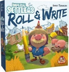 Imperial Settlers - Roll & Write Dobbelspel Bordspel