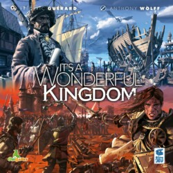 It's a Wonderful Kingdom spel doos box Spellenbunker.nl
