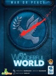 It's a Wonderful World: War or Peace spel doos box Spellenbunker.nl