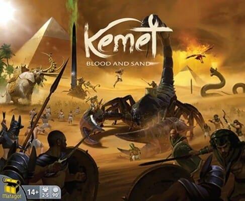 Kemet: Blood and Sand spel doos box Spellenbunker.nl
