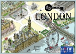 Key to the City: London spel doos box Spellenbunker.nl
