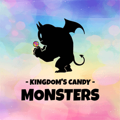 Kingdom's Candy Monsters Litle Rocket Games Kaartspel