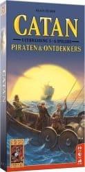 Kolonisten van Catan, De - Piraten en Ontdekkers 5-6 Spelers Bordspel Uitbreiding