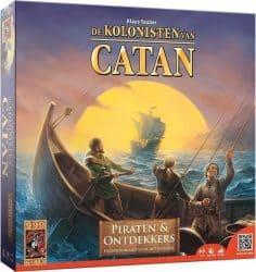 Kolonisten van Catan, De - Piraten en Ontdekkers Bordspel Uitbreiding