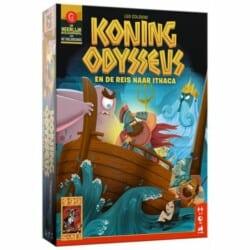 Koning Odysseus en de reis naar Ithaca spel doos box Spellenbunker.nl
