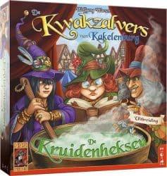 Kwakzalvers van Kakelenburg, De - De Kruidenheksen Bordspel Uitbreiding