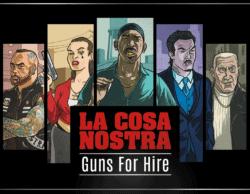 La Cosa Nostra: Guns For Hire spel doos box Spellenbunker.nl