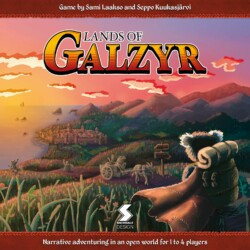 Lands of Galzyr spel doos box Spellenbunker.nl