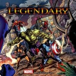 Legendary: A Marvel Deck Building Game spel doos box Spellenbunker.nl