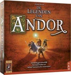 Legenden van Andor, De Bordspel
