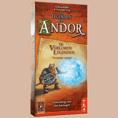 Legenden van Andor- De Verloren Legenden - Donkere Tijden 999 Games Uitbreiding