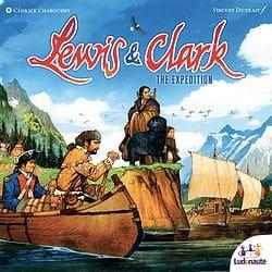 Lewis & Clark: The Expedition spel doos box Spellenbunker.nl