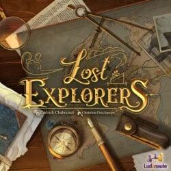 Lost Explorers spel doos box Spellenbunker.nl