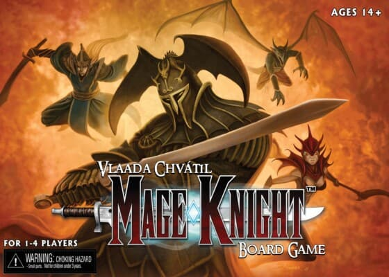 Mage Knight Board Game spel doos box Spellenbunker.nl
