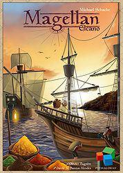 Magellan: Elcano spel doos box Spellenbunker.nl