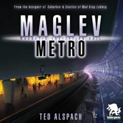 Maglev Metro spel doos box Spellenbunker.nl