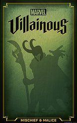 Marvel Villainous: Mischief & Malice spel doos box Spellenbunker.nl
