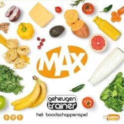 Max geheugentrainer spel doos box Spellenbunker.nl