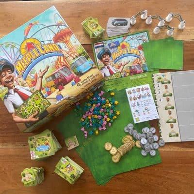 Meeple Land Geronimo Games - Inhoud
