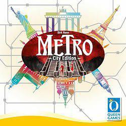 Metro: City Edition spel doos box Spellenbunker.nl