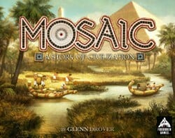 Mosaic: A Story of Civilization spel doos box Spellenbunker.nl