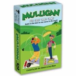 Mulligan: The Golf Card Game spel doos box Spellenbunker.nl