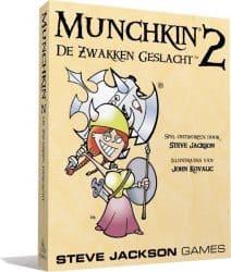Munchkin - 2 De Zwakken Geslacht Kaartspel Uitbreiding