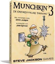 Munchkin - 3 De Onfortuinlijke Theoloog Kaartspel Uitbreiding