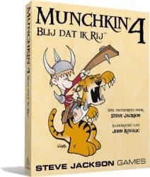 Munchkin - 4- Blij Dat Ik Rij Kaartspel Uitbreiding