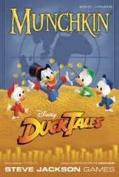 Munchkin Disney DuckTales spel doos box Spellenbunker.nl