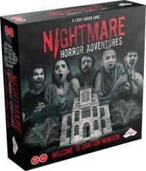 NIGHTMARE Horror Adventures - Escape Bordspel Identity Games