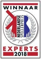 Nederlandse Spellenprijs 2018 - Expertprijs