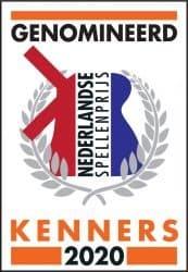 Nederlandse Spellenprijs 2020 Genomineerd Kenners