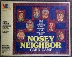 Nosey Neighbor Card Game spel doos box Spellenbunker.nl