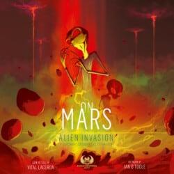 On Mars: Alien Invasion – A Somewhat Cooperative Expansion spel doos box Spellenbunker.nl