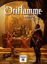 Oriflamme: Ablaze spel doos box Spellenbunker.nl