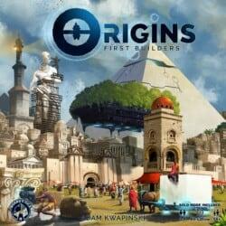 Origins: First Builders spel doos box Spellenbunker.nl