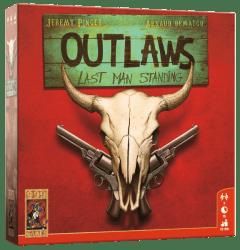 Outlaws- Last Man Standing 999 Games Bordspel