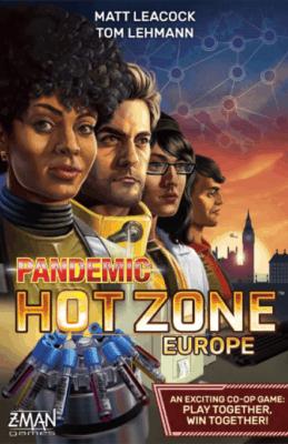 Pandemic: Hot Zone – Europe spel doos box Spellenbunker.nl
