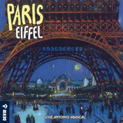 Paris: Eiffel spel doos box Spellenbunker.nl