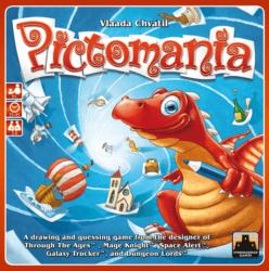 Pictomania spel doos box Spellenbunker.nl