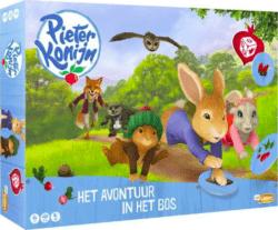 Pieter Konijn: Het Avontuur in het Bos spel doos box Spellenbunker.nl
