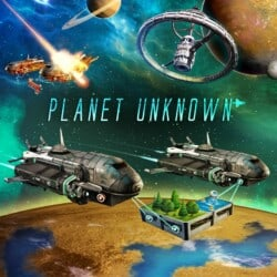 Planet Unknown spel doos box Spellenbunker.nl
