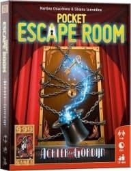 Pocket Escape Room - Achter het Gordijn Bordspel Kaartspel