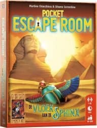 Pocket Escape Room - De Vloek van de Sphinx Bordspel Kaartspel