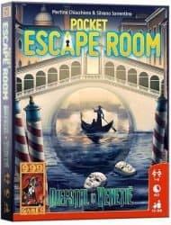 Pocket Escape Room - Diefstal in Venetië Bordspel Kaartspel