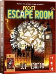 Pocket Escape Room - Het Lot van Londen Bordspel Kaartspel