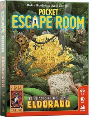 Pocket Escape Room - Het Mysterie van Eldorado Bordspel Kaartspel
