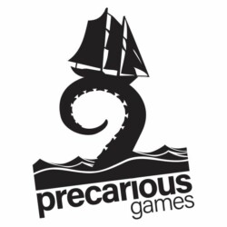 Precarious Games Uitgever Logo